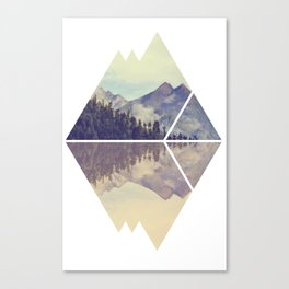 Mountain Reflection Canvas Print