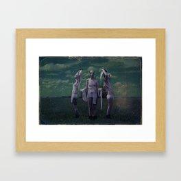 Persephone and attendants  Framed Art Print