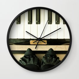 Middle C Wall Clock