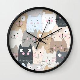 CAT #4 Wall Clock