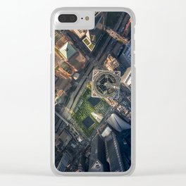 Above the One World Trade Center Clear iPhone Case