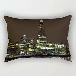 The Shard and South Bank Rectangular Pillow