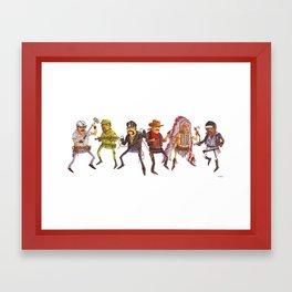 The Village People Framed Art Print
