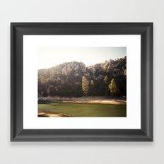 Crystal Lake, CA Framed Art Print