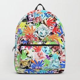Weed Ahegao Backpack