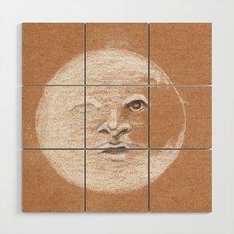 Mister Moon Wood Wall Art