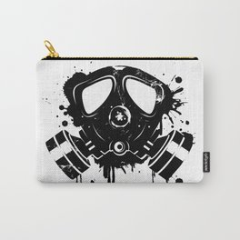 Gas mask graffiti Carry-All Pouch