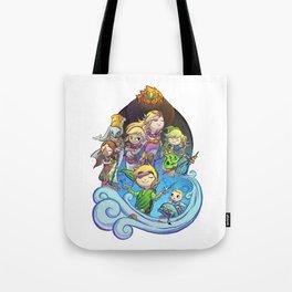 The Legend of Zelda: The Windwaker Tote Bag