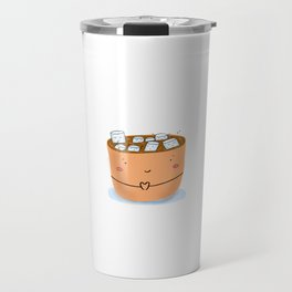 Cup with marshmallows Travel Mug