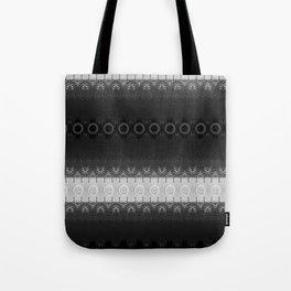 Black Tower Spiral Tote Bag