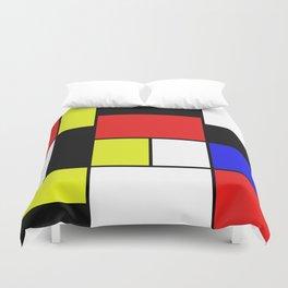 Mondrian #21 Duvet Cover