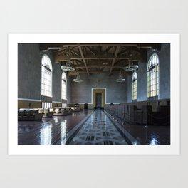 Los Angeles Union Station Interior Art Print