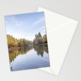 Autumn Reflected - 5 Stationery Cards