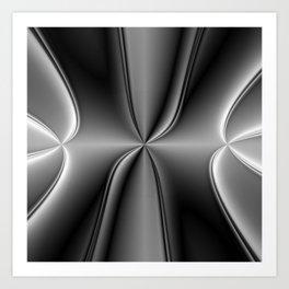 Metallic Chromosome Art Print