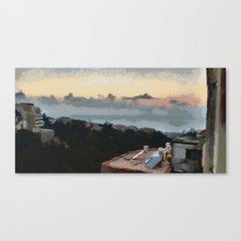 Haifa city 10 Canvas Print