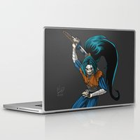 ninja Laptop & iPad Skins featuring Ninja by Mauro Squiz Daviddi