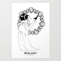 biology Art Prints featuring Biology by Verdant Winter