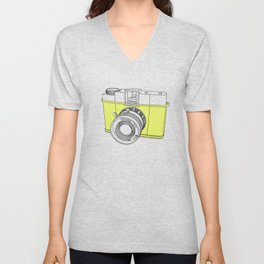 Diana F+ Glow - Plastic Analogue Camera Unisex V-Neck