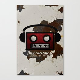 // nuthing x billionaires / get dirty / 1 of 2 // Canvas Print