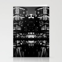 boston Stationery Cards featuring Boston by Nichole Giordano