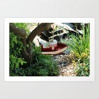 Sail along .. Art Print