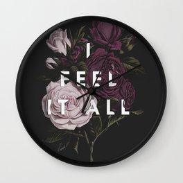I Feel It All Wall Clock