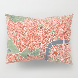 London city map classic Pillow Sham