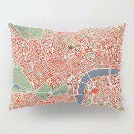 London city map classic Pillow Sham