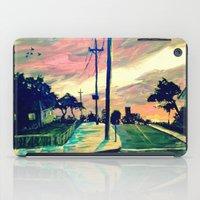 urban iPad Cases featuring Urban // Slowtown by Samantha Crepeau
