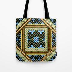 Elizabethan Folkloric Square Tote Bag