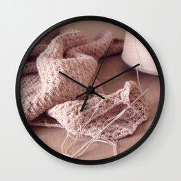 Cotton Pie Wall Clock