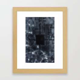 Because Nothing Never Was (Suicide Note) Framed Art Print