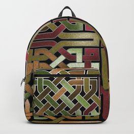 Earthtone Celtic Knot Backpack