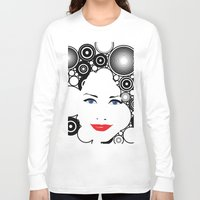lady Long Sleeve T-shirts featuring Lady  by Kenneth