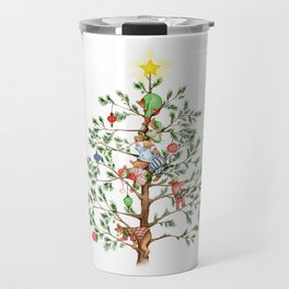 Christmas PJ Bear Cubs Travel Mug