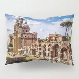 Roman Ruins Pillow Sham