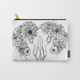 Life and Death (black) Carry-All Pouch