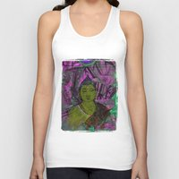 queer Tank Tops featuring Queer Buddha ~ Success II by Jamila
