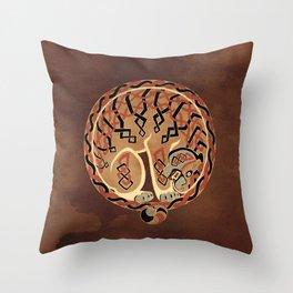 Celtic Tiger Throw Pillow