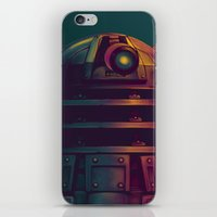 dalek iPhone & iPod Skins featuring Dalek by KiloWhat