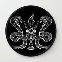alchemy Wall Clocks featuring Alchemy by kittycarnage