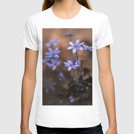Blue liverworts T-shirt
