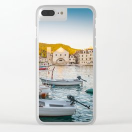 streets of Hvar Clear iPhone Case