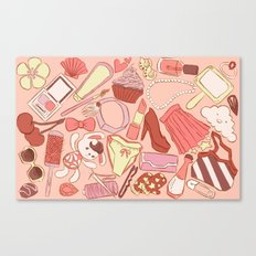 My favorite thing Canvas Print