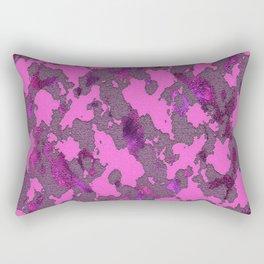 CAMOUFLAGE PINK Rectangular Pillow