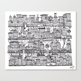 Box City  Canvas Print