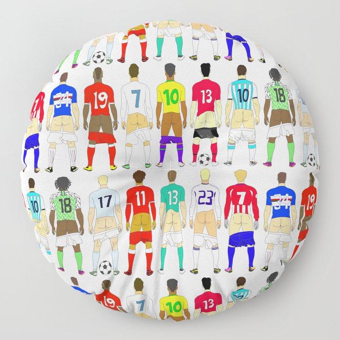 Soccer Butts Floor Pillow