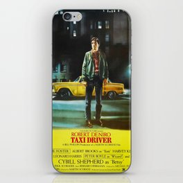 Taxi Driver movie poster iPhone Skin
