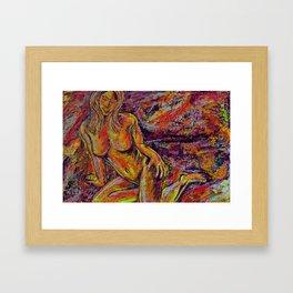 Discretion Framed Art Print
