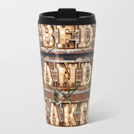 Bed and Breakfast -  Wall-Art for Hotel-Rooms Travel Mug
